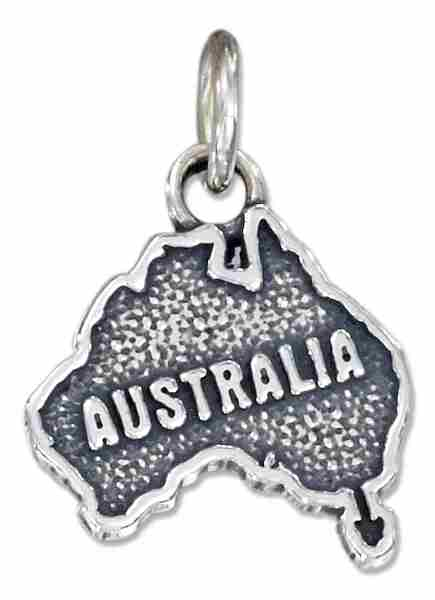 Australia Country Continent Charm