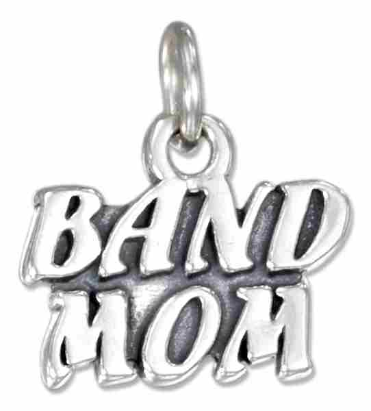 BAND MOM Message Charm
