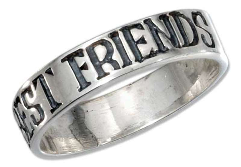 Unisex Best Friend Forever Ring