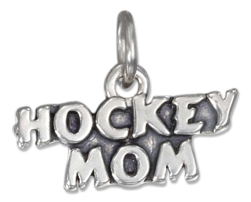 Hockey Mom Charm