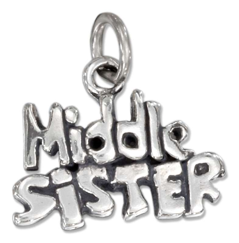 3D MIDDLE SISTER Charm