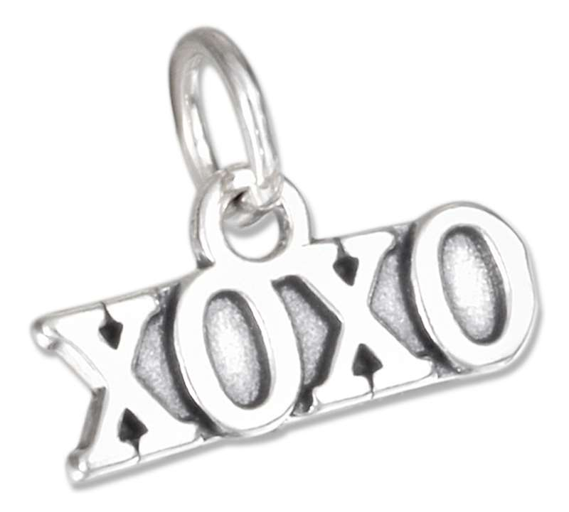 XOXO Hugs Kisses Charm