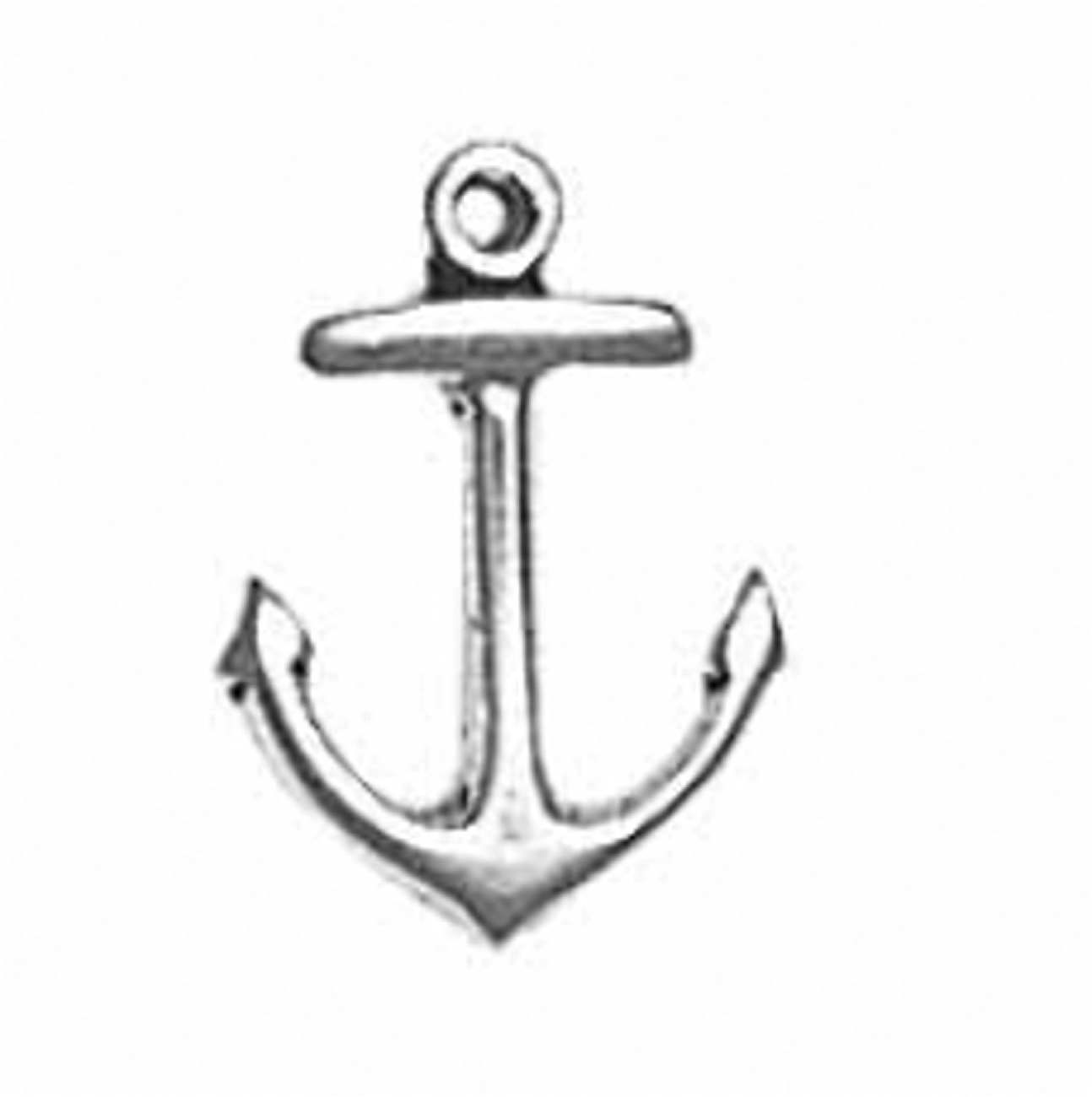 Ship Or Boat Anchor 3D Charm