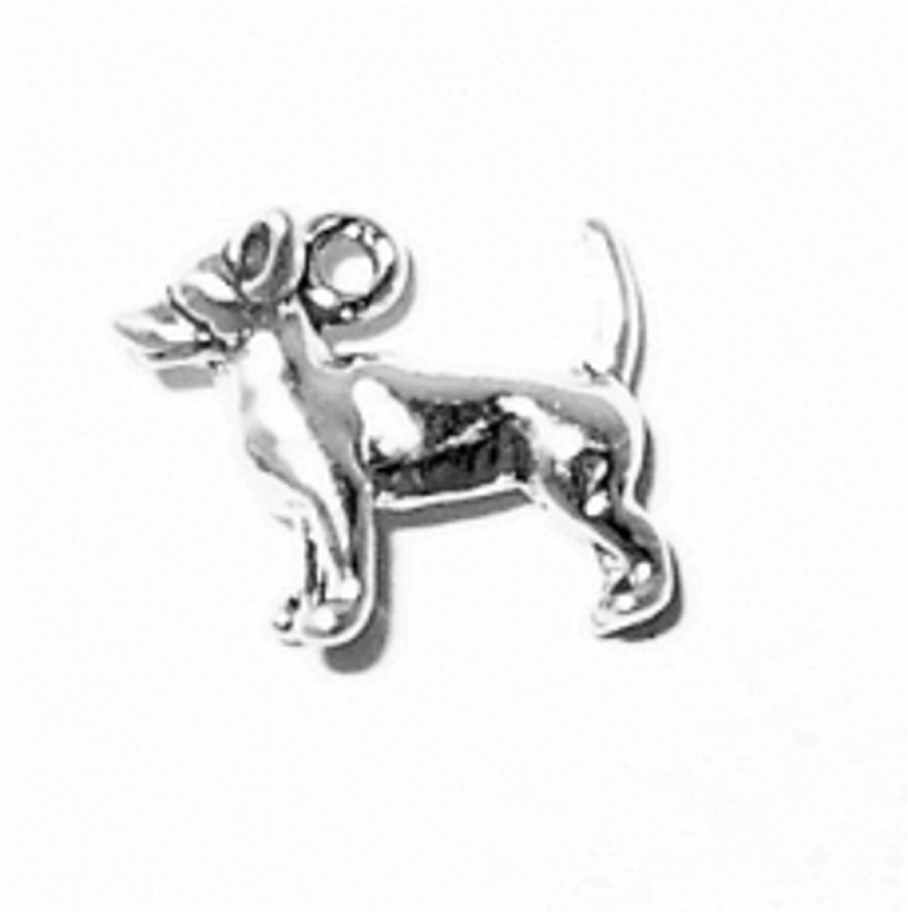 3D Small Standing Chihuahua Dog Breed Charm