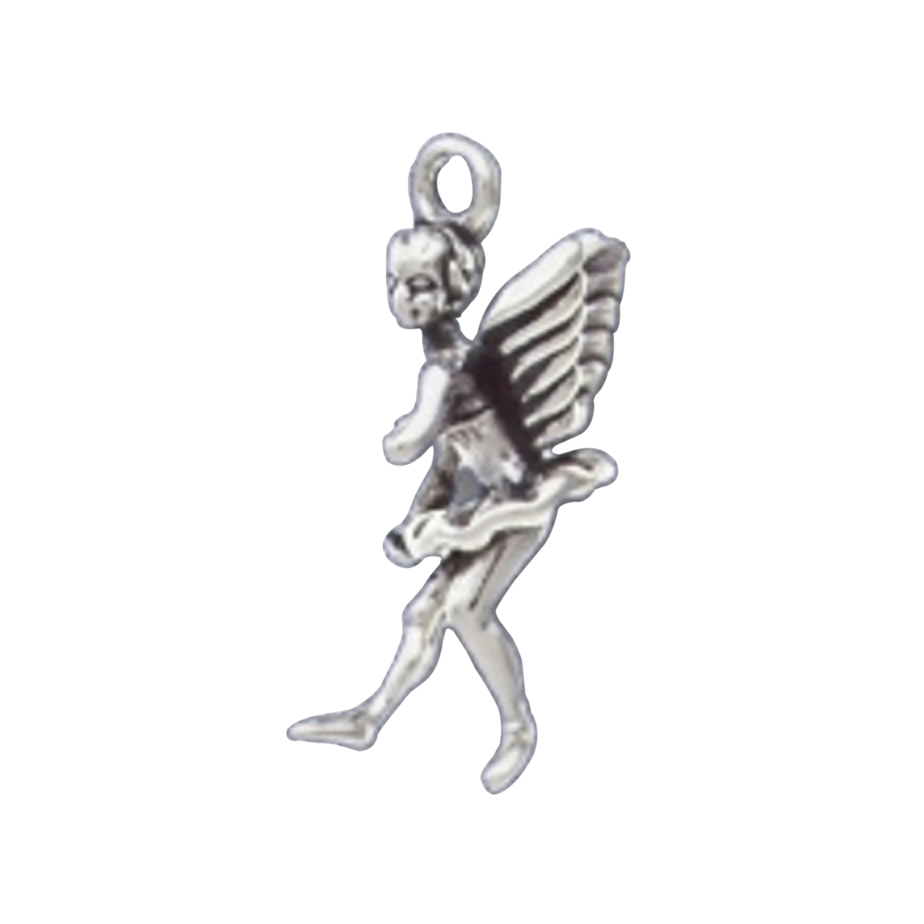 3D Ballet Dancing Angel With Wings Charm