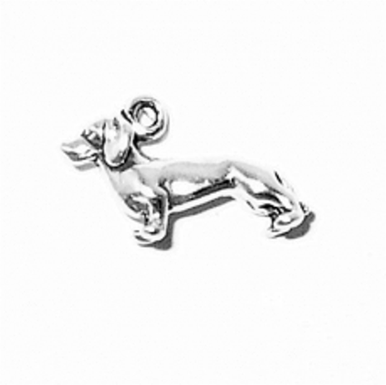 3D Small Standing Dachshund Dog Breed Charm