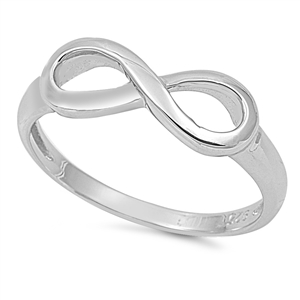 Infinity Symbol Design Love Knot Ring