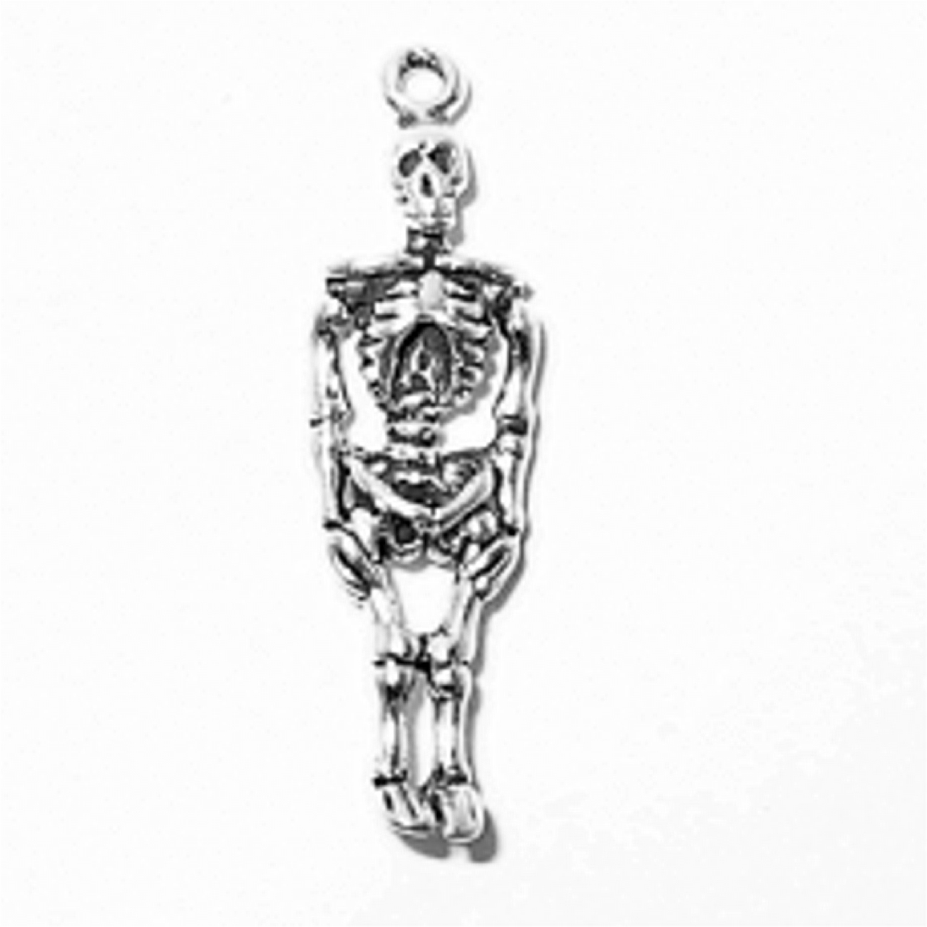 3D Full Body Human Skeleton Charm