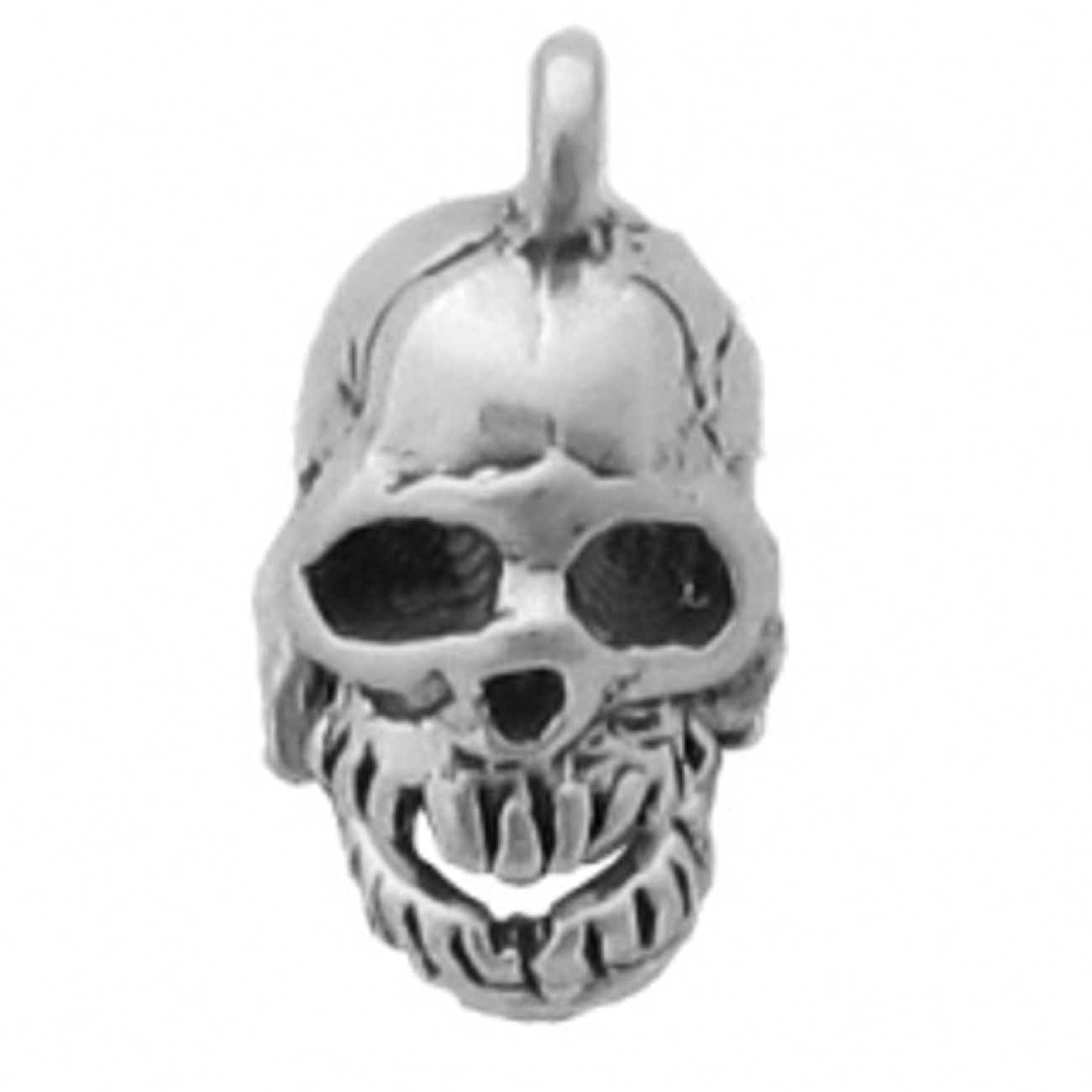 3D Moveable Skull Mouth Charm